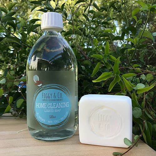 Figgy and Co natural soap castile coconut oil handmade nontoxic eco green cleaners dr bronners