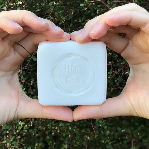 Figgy and Co natural nontoxic eco cleaning nz Coconut bar soap_100g palm free vegan pure