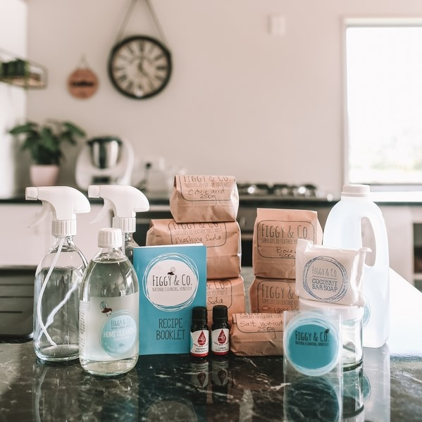 Figgy sampler pack DIY natural home cleaners