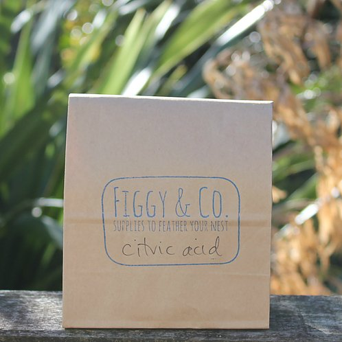Figgy and Co natural eco cleaners bulk ingredients citric acid _DIY