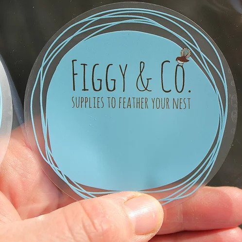 Figgy and Co natural eco cleaners DIY labels storage
